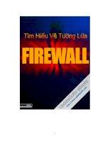 Tài liệu Tìm hiểu về Tường Lửa-Fire Wall pptx