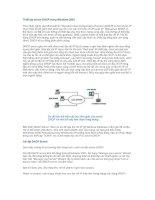 Tài liệu Thiết lập server DHCP trong Windows 2003 ppt