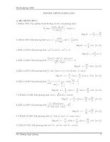Tài liệu Tổng hợp phương trình lượng giác trong đề thi ĐH môn Toán pptx
