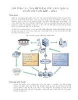 Tài liệu Giới thiệu tính năng Hệ thống phần mềm Quản lý Chuỗi Nhà thuốc GPP – XMan pdf