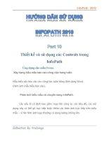 Tài liệu Hướng dẫn sử dụng InfoPath 2010 part 10 doc