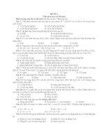 Tài liệu Bộ đề thi thử Đại học môn Hóa doc
