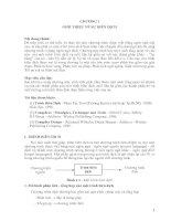 Tài liệu Tài liệu trình biên dịch C (ĐH Cần Thơ) part 1 ppt