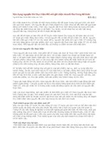 Tài liệu Vận dụng nguyên tắc thực hiện đối với ghi nhận doanh thu trong Kế toán pdf
