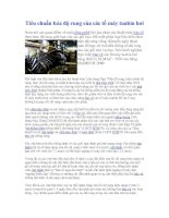 Tài liệu Tiêu Chuẩn Hóa Độ Rung Của Các Tổ Máy Tuabin Hơi docx