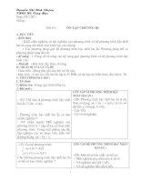 Bài giảng On tap chuong III (47+48) Dai 9 Phuong