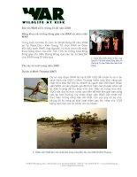Tài liệu Bản tin WAR số 5: tháng 01-03 năm 2008 pdf