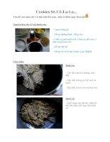 Tài liệu Cookies Sô-Cô-La-La... pdf