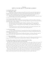 Tài liệu NHỮNG VẤN ĐỀ CHUNG VỀ BẢO HỘ LAO ĐỘNG ppt