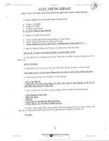 Tài liệu Đề thi sát hạch cấp chứng chỉ hành nghề Giao dịch - Môi giới CK ppt