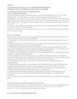 Tài liệu UNIFORM RULES FOR BANK-TO-BANK REIMBURSEMENTS ppt
