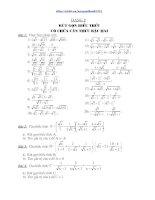 Tổng hợp các dạng toán thi vào lớp 10 THPT