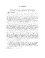 Tài liệu Chương 3 :tính toán mạch vòng dẫn điện pdf