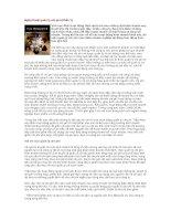 Tài liệu Nghệ thuật quản lý chi phí (Phần 1) pdf
