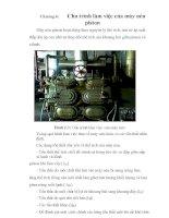 Tài liệu thiết kế hệ thống lạnh cho xí nghiệp, chương 6 pdf