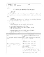 Tài liệu Bài 1 ( Tiết 2) HH12 CB chương III