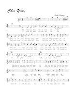 Tài liệu Bài hát cha yêu - Quốc Vượng (lời bài hát có nốt) pptx
