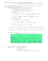 Đề thi chi tiết máy - olympic cơ học toàn quốc