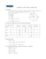 Tài liệu Chương 1: Công thức lượng giác docx