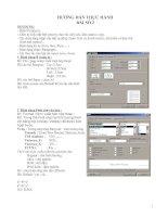 Tài liệu Giáo trình hướng dẫn thực hành tin học - Word ppt