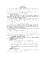 Tài liệu Thiết kế cơ khí theo tham số và hướng đối tượng .chương 4 pdf