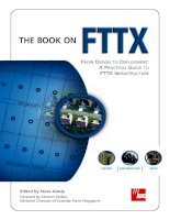 Tài liệu FROM DESIGN TO DEPLOYMENT: A PRACTICAL GUIDE TO FTTX INFRASTRUCTURE ppt