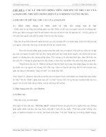 Tiểu luận quản trị học các lý THUYẾT ĐỘNG VIÊN THUYẾT về NHU cầu của a MASLOW  THUYẾT MONG đợi của v ROOM và ỨNG DỤNG