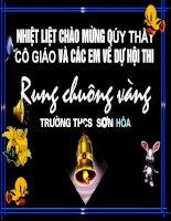 Tài liệu RUNG CHUONG VANG HAY