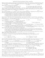 Tài liệu Đề ôn tập luyện thi đại học 2010_- Đề số 18 doc