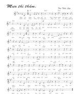 Tài liệu Bài hát mưa thì thầm - Tôn Thất Lập (lời bài hát có nốt) pdf