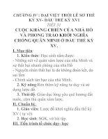 Tài liệu Lịch sử lớp 7 bài 18 docx
