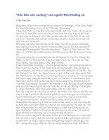 """Tài liệu """"Xên bản xên mường"""" của người Thái Mường Lò doc"""
