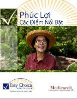 Tài liệu Sự lựa chọn cho sự chăm sóc y tế của mình pptx