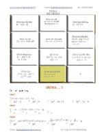 Gián án Đề thi violympic toán 8 vòng 1 đến 10