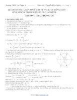 Gián án Tóm tắt kiến thức lý 12