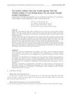 Tài liệu Tổng công ty cổ phần đầu tư và xuất nhập khẩu Foodinco docx