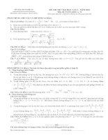 Tài liệu Đề thi thử ĐH lần 2 năm 2010 môn Toán khối A-B pdf