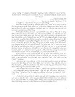 Tài liệu GIẢI PHÁP ỨNG PHÓ VỚI HIỆN TƯỢNG BIẾN ĐỔI KHÍ HẬU, NƯỚC BIỂN DÂNG TRONG QUY HOẠCH PHÁT TRIỂN DU LỊCH BIỂN, ĐẢO VIỆT NAM docx