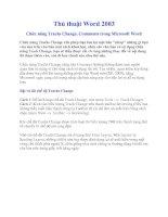 Tài liệu Chức năng Tracks Change, Comments pdf
