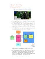 Chuong 9 cards  bảo trì máy tính-CTLR & Cai Dat May Tinh