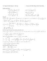 Tài liệu Tuyển tập bài tập chuyên đề bất đẳng thức cực hay ppt