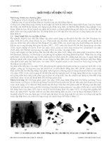 Tài liệu Chương 1: Tổng quan về lịch sử phát triển của điện docx