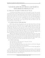 Tài liệu Vận hành - kiểm tra kỹ thuật - làm nguội và tinh chỉnh sản phẩm sau cán pdf