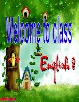 Gián án english exercise