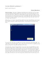 Tài liệu Tìm hiểu chế độ XP của Windows 7 doc