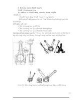 Tài liệu Kết cấu nhóm thanh truyền pdf
