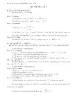 Tài liệu Ôn tập học kỳ 2 môn toán 2008-2009 tham khảo pptx