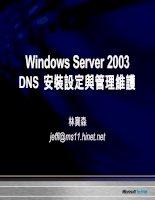 Tài liệu Windows Server 2003 System Administration Part 1 ppt