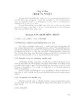 Tài liệu Chương 8 : Khái niệm cơ bản về truyền nhiệt ppt