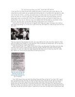 Tài liệu Về cuộc đời hoạt động của CHỦ TỊCH HỒ CHÍ MINH pdf